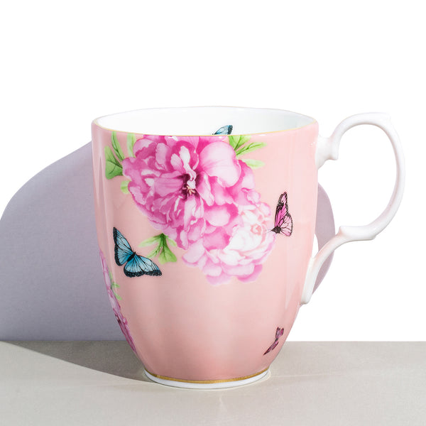 1 Royal Albert x Miranda Kerr Friendship Coral Vintage Mug | 400 mL / 13.5 fl oz