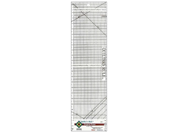 "Quilter's Rule 6 1/2"" x 24"" Original Ruler"