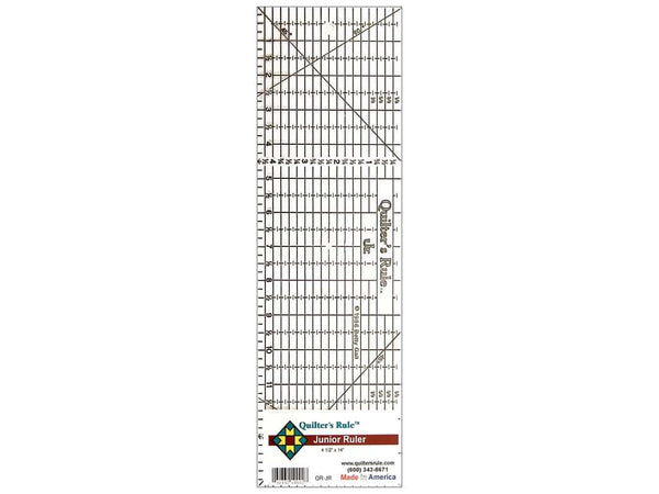 "Quilter's Rule Junior Ruler - 4 1/2"" X 14"""
