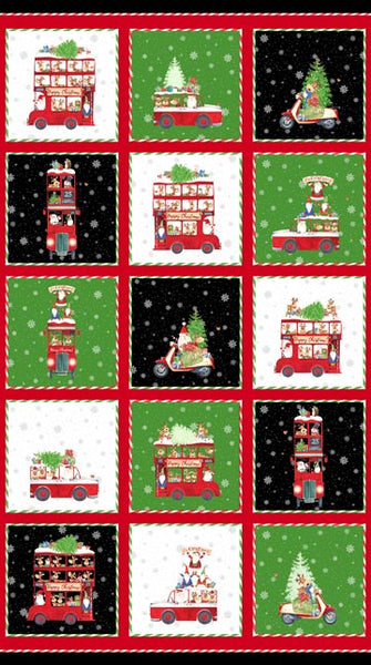 Double Decker Xmas 22900-99  $9.00 / yard