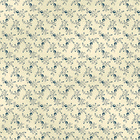 St. Louis (c. 1840-1885) - Vine  26837-LT Blue $9.00 / yard