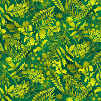 Butterfly Paradise 4925-66 Green @ $9.00 / yard