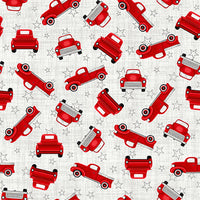 Studio E Fabrics TRUCK-IN THE USA 5001-8 @ $9.00 / yard