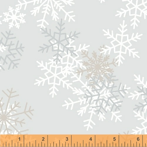 "Windham Snowflakes 51461-1 – 108"" Quilt Backing @ $19.00 / Yard"