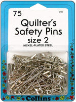Collins Quilters Safety Pins 75 count