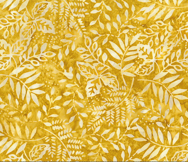 Painted Leaves - Golden Slate 80364-53 $9.00 / yard