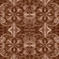 Blank 108in Wide Back  Baroque 9777-41 Brown @ $17.00 / Yard