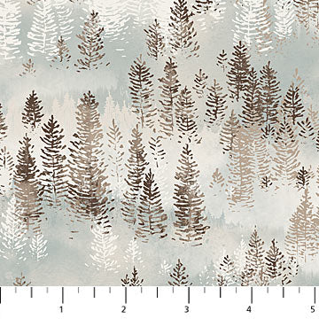 Misty Mountain - Flannel - Misty Earth Flannel - F22979-61 @ $9.00 / yard