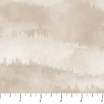 Misty Mountain - Flannel - Misty Earth Flannel - F22980-14 @ $9.00 / yard
