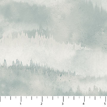 Misty Mountain - Flannel - Misty Earth Flannel - F22980-61 @ $9.00 / yard