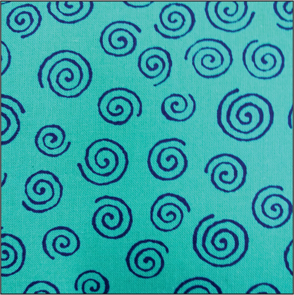 RI8024-15 Swirls Cotton Quilt Backing @ $18.00 / Yard