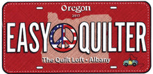 Row by Row License Plates - Evil Mad Quilter & The Quilt Loft