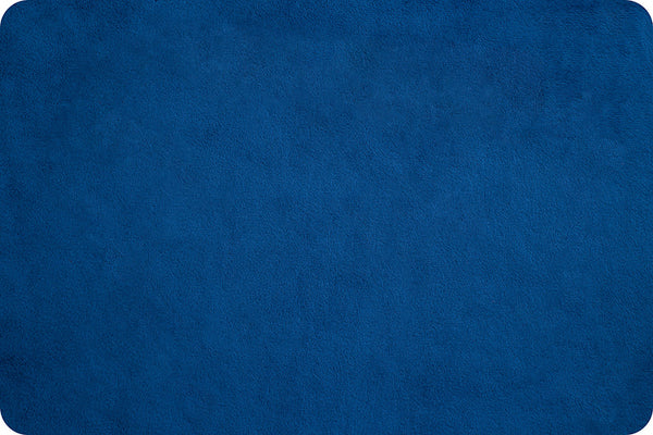 Extra Wide Solid Cuddle 3® Royal @ $21.00 / Yard