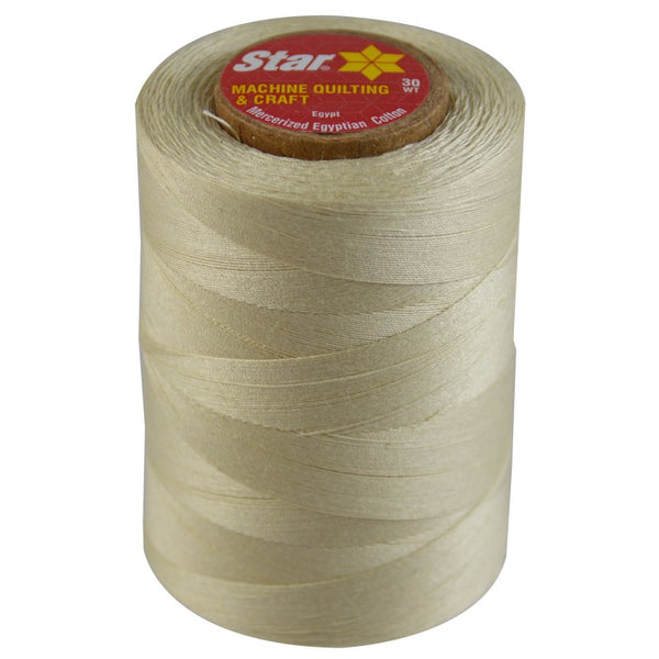 Star Cotton Solid: 1200 yds Cream CACV37-116