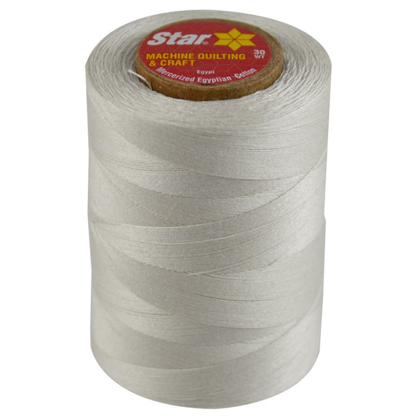 Star Cotton Solid: 1200 yds Nugrey CACV37-23A