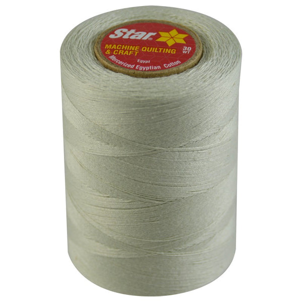 Star Cotton Solid: 1200 yds Silver CACV37-480