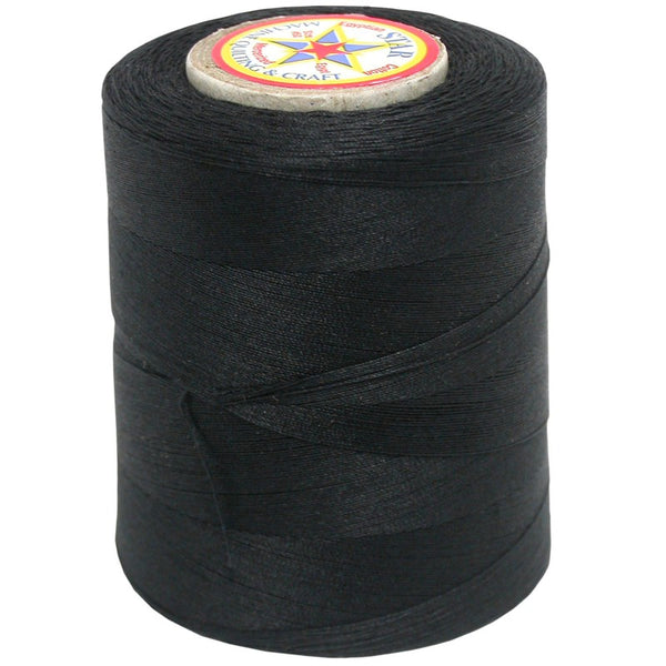 Star Cotton Solid: 1200 yds Black CACV37-B