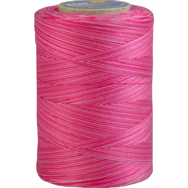 Star Cotton Variegated: 1200 yds Pink Passion CACV38-819