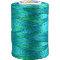 Star Cotton Variegated: 1200 yds Bahama Blues CACV38-839