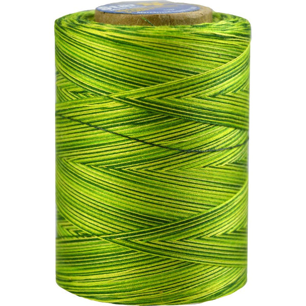 Star Cotton Variegated: 1200 yds Spring Greens CACV38-855