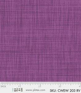 P&B Color Weave 108in Wide Back CWEW203RV @ $18.00 / Yard