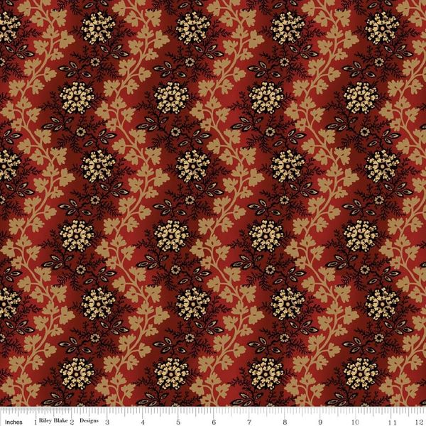 Civil War Times C4260-Red  $9.00 / yard