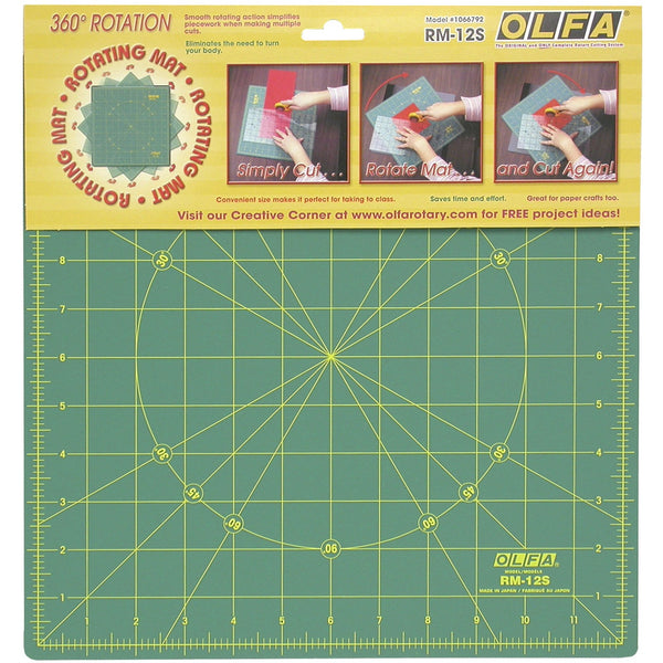 "Self-Healing Rotary Mat 12"" Square - OLFRM-12S"