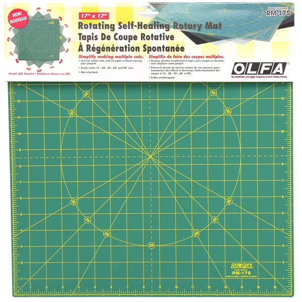 "Self-Healing Rotary Mat 17"" Square - OLFRM-17S"