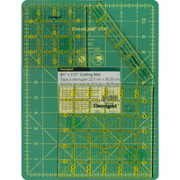 Omnigrid Rulers & Cutting Mat Travel Kit - OMN12WGRS