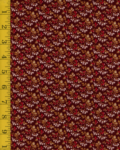 St. Louis (c. 1840-1885) - Packed Floral  26834-WIN1 $9.00 / yard