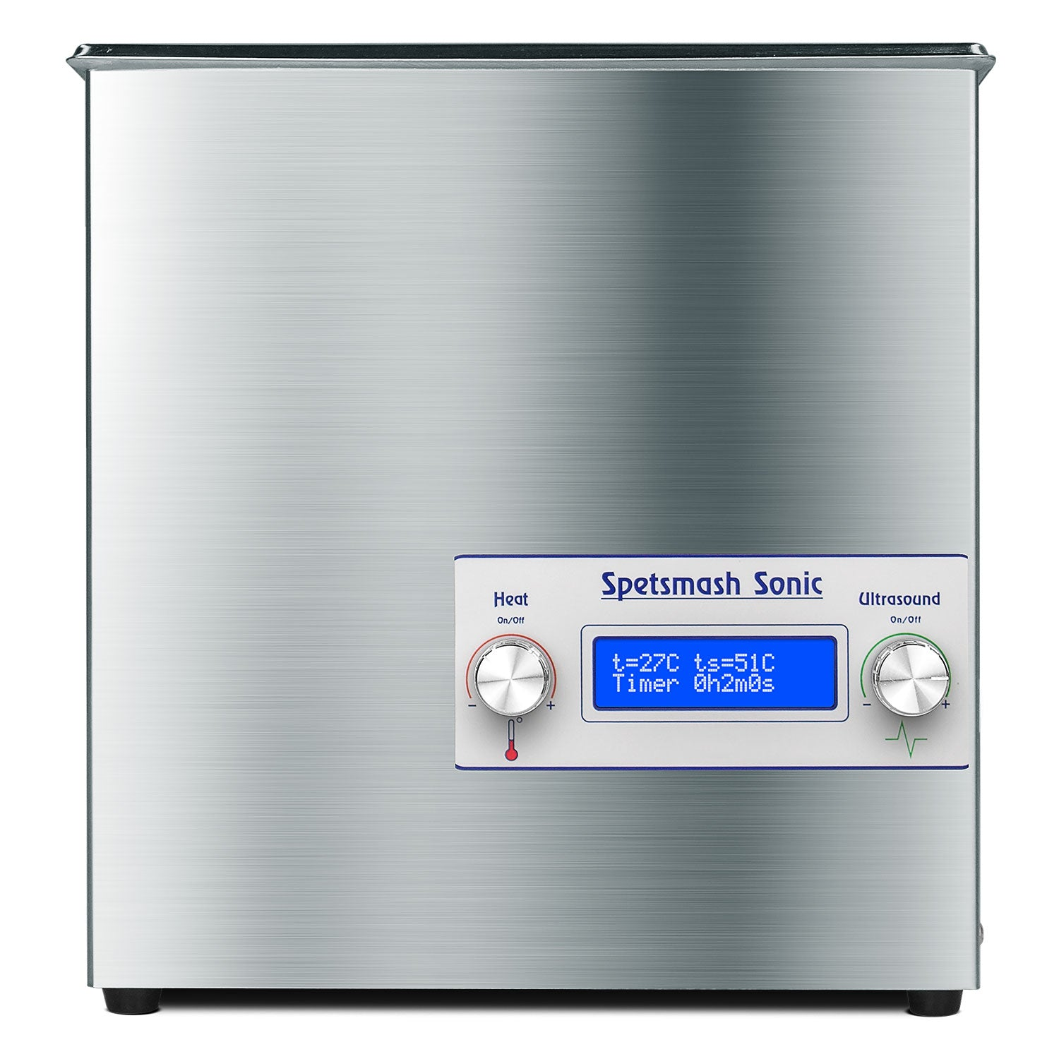 Specmash Sonic - Ultrasonic Cleaner, Stainless Steel, Heating, Digital, Laboratory Grade 25kHZ