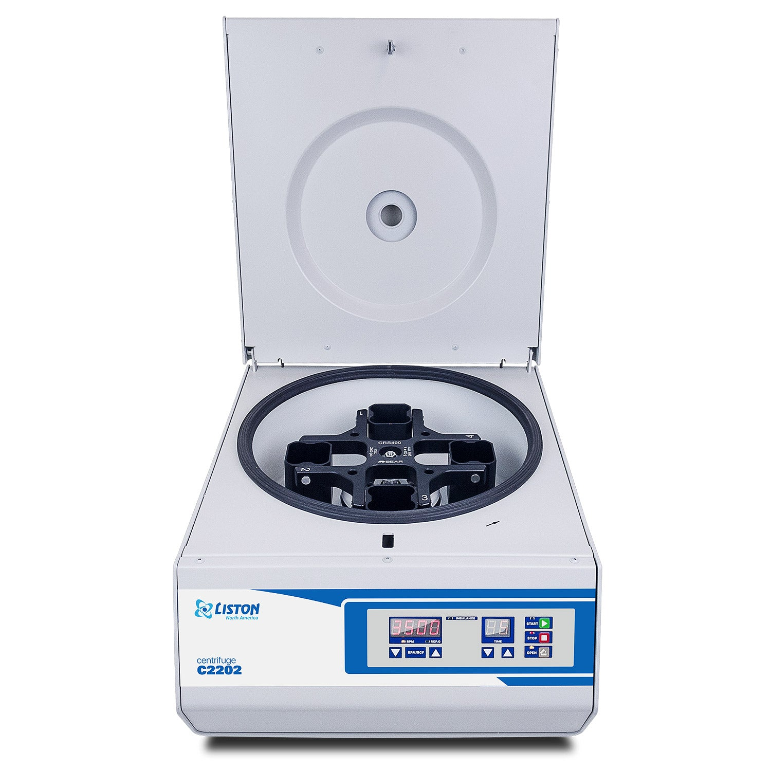 LISTON C2202 | Swing-Out Benchtop Centrifuge with Rotor Included for Clinical and Research Use