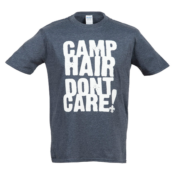 i.SCOUT Adult 'Camp Hair Don't Care!' T-Shirt