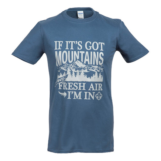 i.SCOUT 'Mountains Calling' T-Shirt