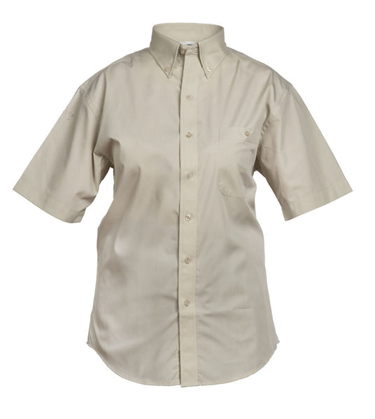 Adult Ladies' Short-Sleeved Blouse