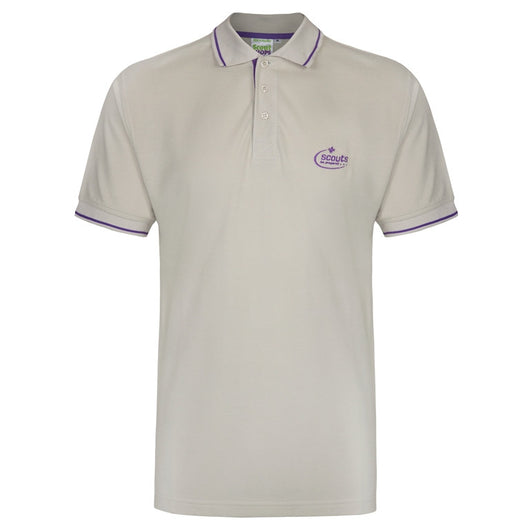 Adult Unisex Tipped Polo Shirt