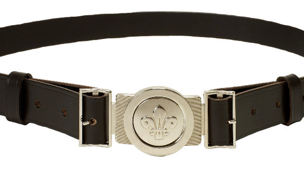 Scout Uniform Belt and Buckle Set