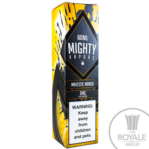 Mighty Vapors E-Juice - Majestic Mango