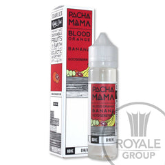 Pacha Mama E-Juice - Blood Orange Banana Gooseberry