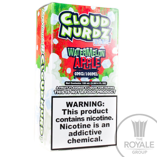 Cloud Nurdz E-Juice - Iced Watermelon Apple