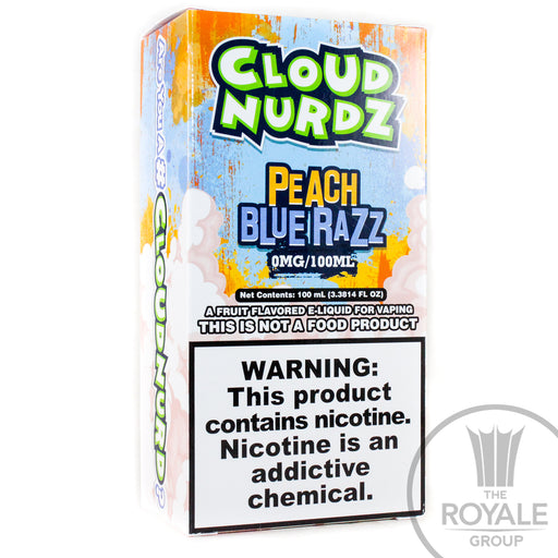 Cloud Nurdz E-Juice - Peach Blue Razz