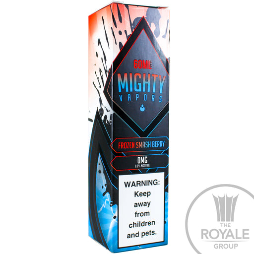 Mighty Vapors E-Juice - Frozen Smash Berry