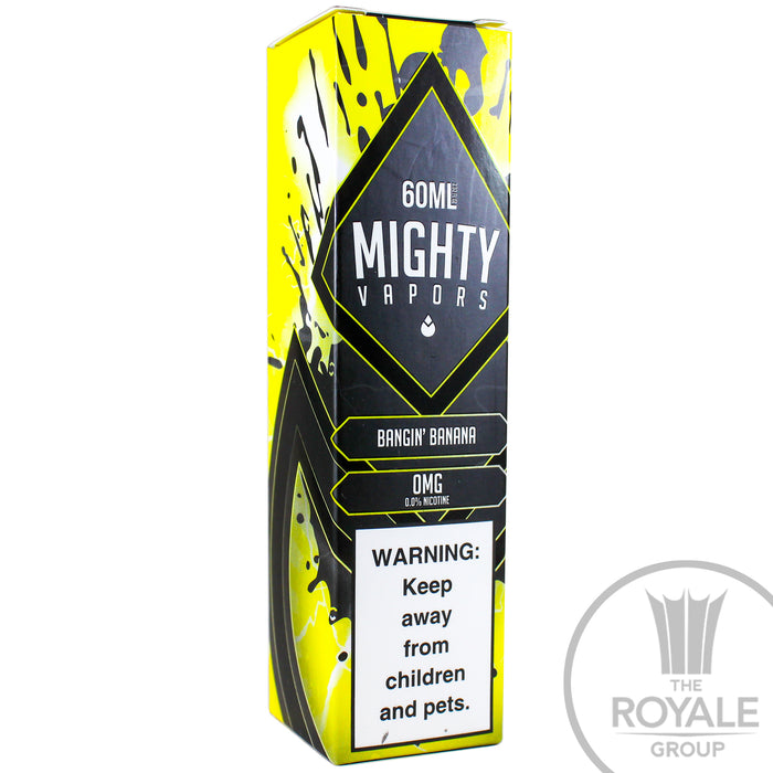 Mighty Vapors E-Juice - Bangin' Bananas