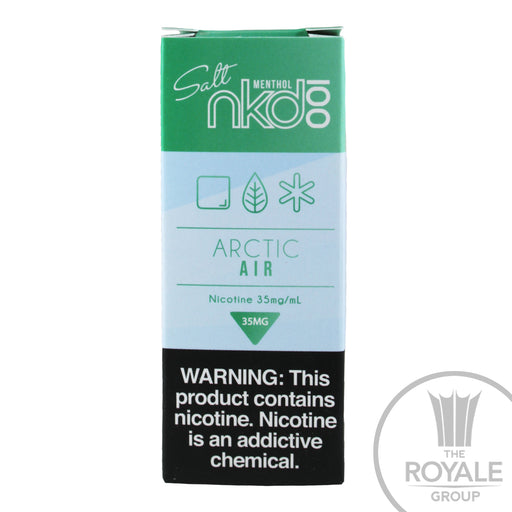 Naked 100 Salt E-Juice - Arctic Air (Mint)