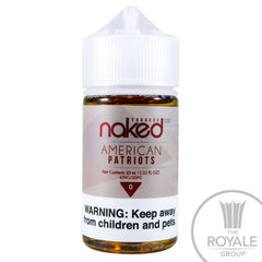 Naked 100 E-Juice - American Patriot