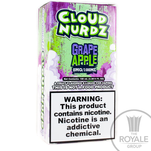 Cloud Nurdz E-Juice - Grape Apple