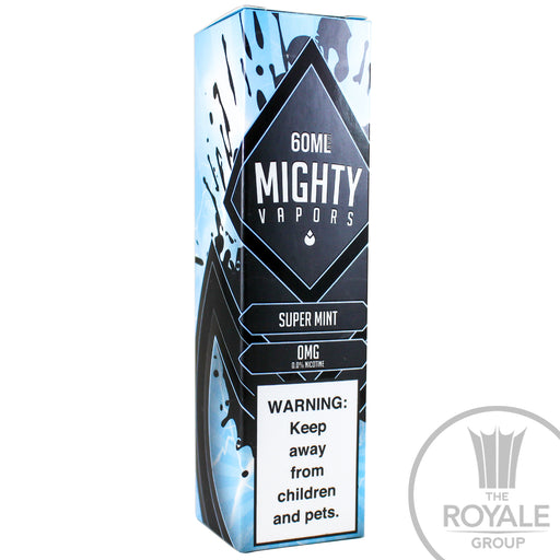 Mighty Vapors E-Juice - Super Mint