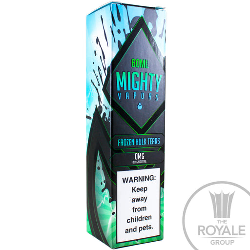 Mighty Vapors E-Juice - Frozen Hulk Tears