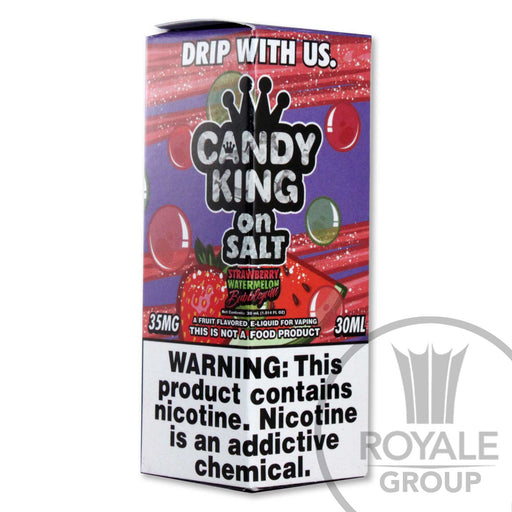 Candy King Salt E-Juice - Strawberry Watermelon Bubblegum