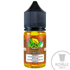 Leaf Salt E-Juice - American Tobacco